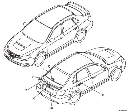 2011 Subaru Impreza Transmission: Factory Service Manual