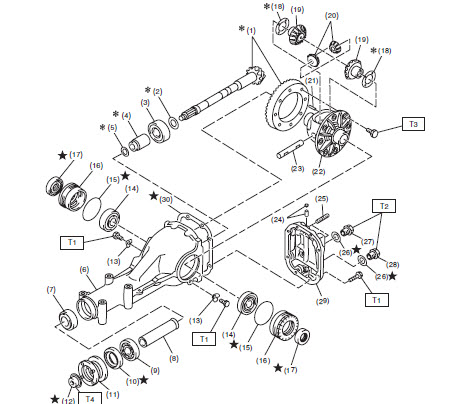 2001 Subaru Outback Transmission Diagram