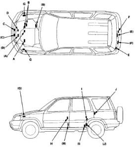 Honda Cr-v 1999 2000 Service Manual