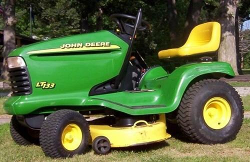 John Deere Lt133 Lt155 Lt166 Lawn Tractor Workshop Service